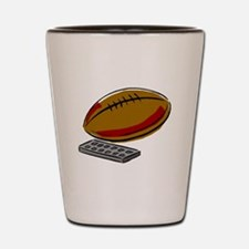 Football And Remote Control Shot Glass
