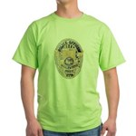 Inglewood Police Officer Green T-Shirt