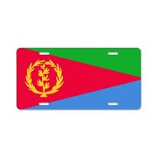Flag of Eritrea Aluminum License Plate