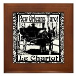 New Orleans Tarot Art Framed Tile