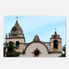 Cute California missions Postcards (Package of 8)