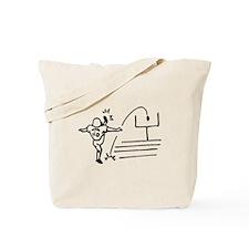 Field Goal Kicker Tote Bag