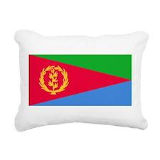 Flag of Eritrea Rectangular Canvas Pillow