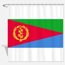 Flag Of Eritrea Shower Curtain