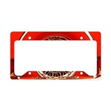 Red T-Bird License Plate Holder