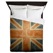 Unique British flag Queen Duvet