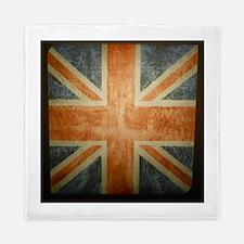 Funny British flag Queen Duvet