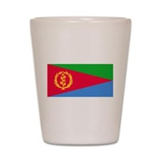 Flag of Eritrea Shot Glass