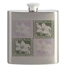 Cool Lanai hawaii Flask