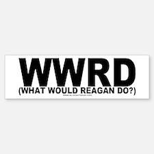 WWRD? Bumper Bumper Bumper Sticker