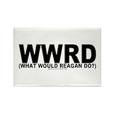 WWRD? Rectangle Magnet