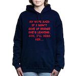 BRIDGE.png Women's Hooded Sweatshirt