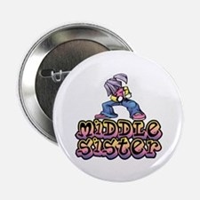 Hip Chic Little Sister Button