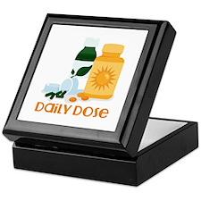 Daily Dose Keepsake Box
