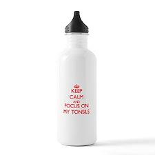 Funny Tonsillitis Water Bottle