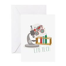 Lab Tech Greeting Cards