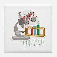 Lab Tech Tile Coaster