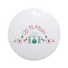 Up N Atom Ornament (Round)