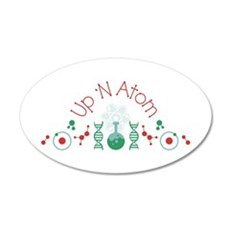 Up N Atom Wall Decal