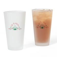 Up N Atom Drinking Glass