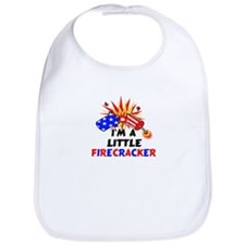 I'm A Little Firecracker Bib