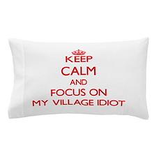 Funny Bee calm Pillow Case