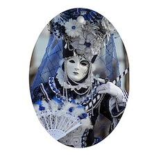 Venetian Lady Ornament (Oval)