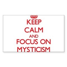 Keep Calm and focus on Mysticism Decal