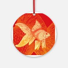 Goldfish Ornament (Round)