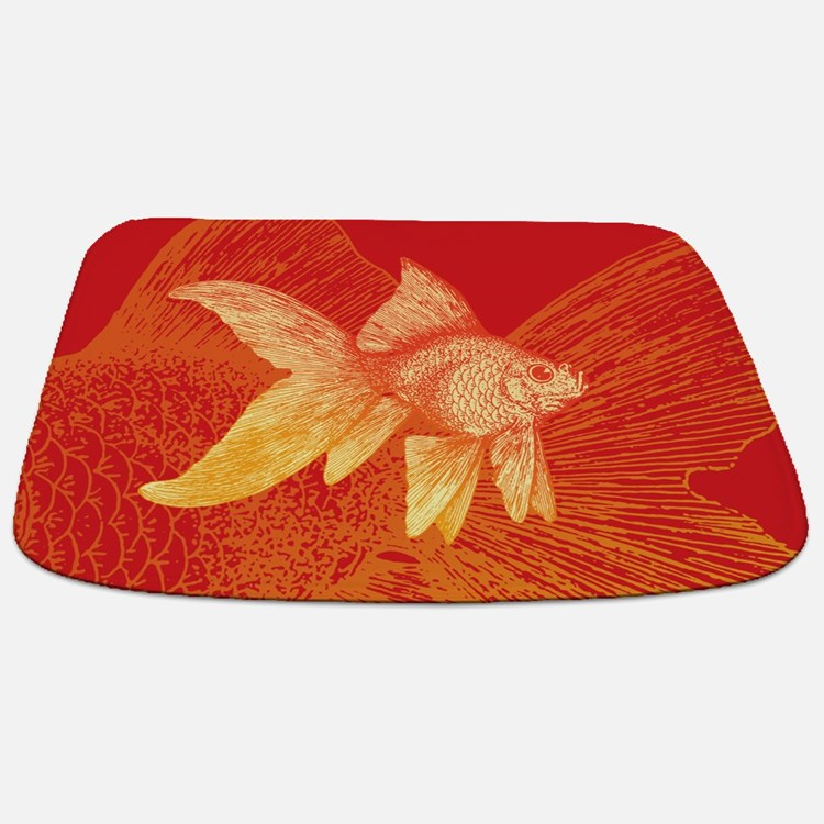 Goldfish Bathroom Accessories Decor Cafepress