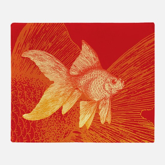 Goldfish Throw Blanket