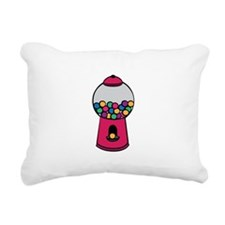 Gumball Machine Rectangular Canvas Pillow