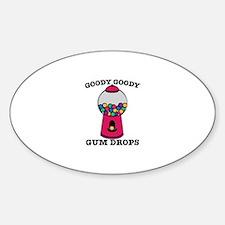 Goody Goody Gum Drops Decal