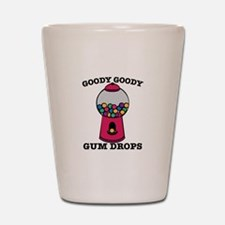 Goody Goody Gum Drops Shot Glass