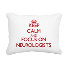 Cute Pediatric neurologists Rectangular Canvas Pillow