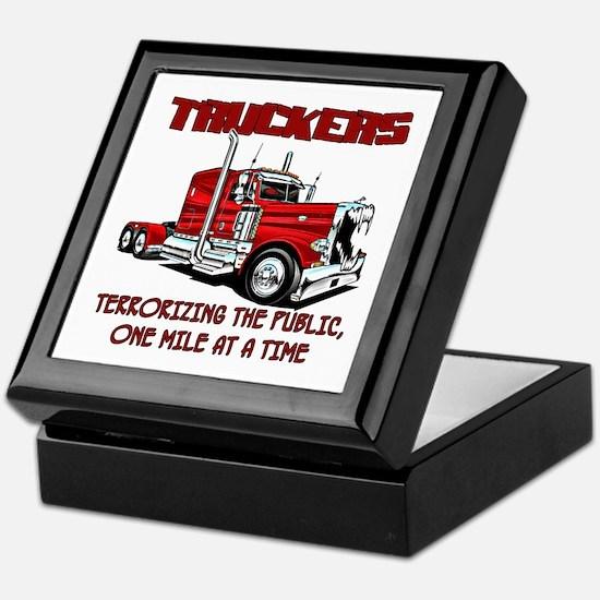 Truckers-Terrorizing The Public, One Keepsake Box