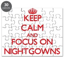Cute American idol nightshirt Puzzle