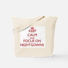 Funny Nightshirt Tote Bag