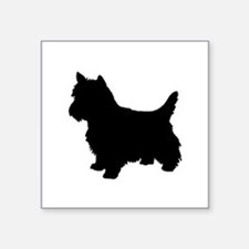 Cairn Terrier Black 1C Sticker