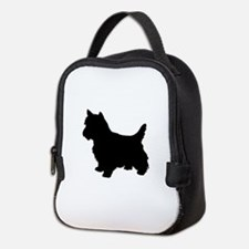Cairn Terrier Black 1C Neoprene Lunch Bag