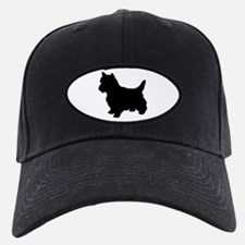 Cairn Terrier Black 1C Baseball Hat