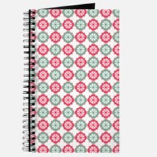Colorful Morrocan Quatrefoil Pattern Journal