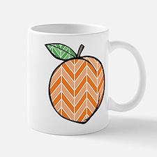 Chevron Peach Mugs