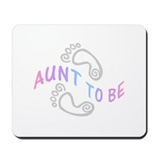 AUNT TO BE Mousepad