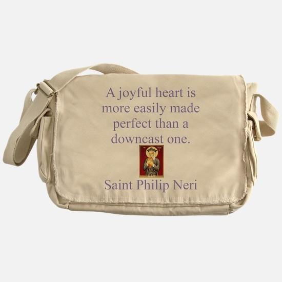 A Joyful Heart Messenger Bag