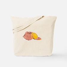 Yam Vegetable Tote Bag