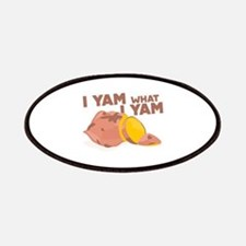 What I Yam Patches