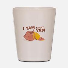 What I Yam Shot Glass