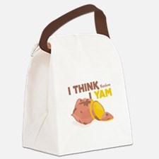 Think Yam Canvas Lunch Bag