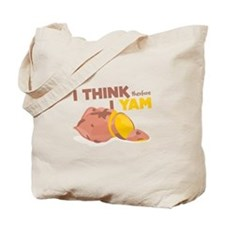 Think Yam Tote Bag